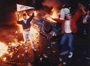 Tigers Riot Picture 1984